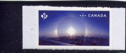 CANADA 2015, 2842   Canada Weather Phenomena  Single From Bklet, CANADA' ARTIC IQALUIT: TWIN SUN, Sun Dogs - Carnets