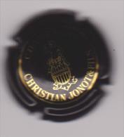 Capsule Champagne JONOT Christian ( 6 ; Noir Et Or ) - {S27-15}. - Zonder Classificatie