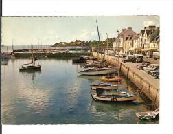 IRIS/JOS N° MX 3642 / LA TRINITE SUR MER : Les Quais / Voyagée 1970 / Pliures - Flamme Carnac - La Trinite Sur Mer