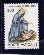 Vatican, 1988. # 808 MNH  Madonna With Child - Vatican
