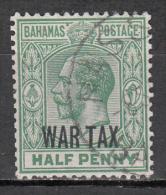 Bahamas   Scott No.  MR6    Used    Year  1918 - Bahamas (1973-...)