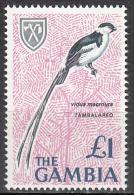 Gambia    Scott No.  227   Mnh    Year  1966 - Gambie (1965-...)