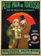 Postcard - Poster Reproduction - Petit Pain De Tortosa Pates & Pastilles De Réglisse Valence (Drome) 1910 - Advertising