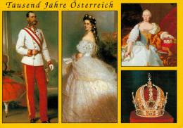 KAISER FRANZ JSEF I  -KAISERIN ELISABETH - MARIA THERESIA--KAISERKRONE  (NUOVA) - Familles Royales
