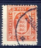 ##K1350. Denmark 1917. Officials. Michel 16. Used(o). - Officials