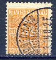 ##K1361. Denmark 1907. AVISPORTO. Michel 6X. Used(o). - Port Dû (Taxe)