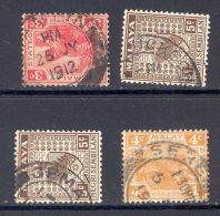 MALAYA/NEGRI SEMBILAN, Postmarks Tampin, Bahau, Port Dickson, Seremban - Negri Sembilan