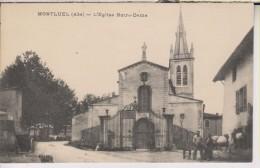 CPA-01-Ain- MONTLUEL- Eglise Notre-Dame- - Montluel