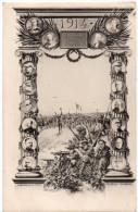 1914 -  Gloire à Notre ARMEE Et à Nos ALLIES -  Géligné, Paris - Weltkrieg 1914-18