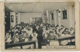 Marienanstalt Fasangasse 4 College Edit Ch. Scolik Wien Beim Weissnahen Sewing Machine Singer Nun Bonne Soeur - Autres