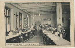 Marienanstalt Fasangasse 4 College Edit Ch. Scolik Wien Beim Schnittzeichnen   Nun Bonne Soeur - Autres