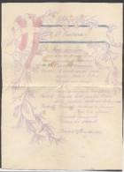 6926-PROGRAMMA FESTE NATALIZIE 43° REGG. FANTERIA-BENGASI 25 DICEMBRE 1912-GUERRA ITALO-TURCA - Programmes