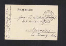 Deutsche Besetzung PK Mariembourg 1915 - Weltkrieg 1914-18
