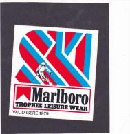 Marlboro - Trophée Leisure Wear 1979 Val D'Isère - Automobile - F1