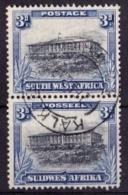 SÜDWESTAFRIKA Mi. Nr. 146/147 O Senkrechtes Paar (3-58) - Africa Del Sud-Ovest (1923-1990)