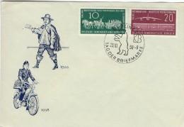 Tag der Briefmarke  Berlin - DDR.  h-324