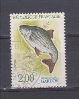 "FRANCE / 1990 / Y&T N° 2663 : ""Poissons"" (Gardon) - Choisi - Cachet Rond (1992) - Frankreich"