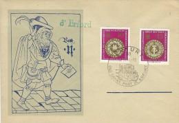 350 Jahre Post in Erfurt - DDR.  h-449