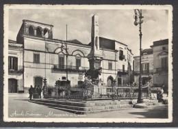 6936-ASCOLI SATRIANO(FOGGIA)-MONUMENTO AI CADUTI-1956-FG - Foggia
