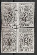 BELGIE BELQIQUE Blok Van 4 1447 Bloc De 4 - Used Stamps