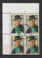BELGIE BELQIQUE Blok Van 4 1384 Bloc De 4 - Used Stamps