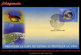 AMERICA. COLOMBIA SPD-FDC. 2005 DÍA INTERNACIONAL DE LA PROTECCIÓN DE LA CAPA DE OZONO - Colombia
