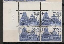 BELGIE BELQIQUE Blok Van 4 1354 Bloc De 4 - Used Stamps