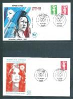 2 Envelloppes Premier Jour  Avec N° 2714/15 Et  2720 Marianne  30/09/1991 - Unclassified
