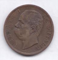 ITALY  10 Centesimi 1894 B/I  VF/XF  KM27.1  Umberto I - 1861-1946 : Kingdom