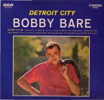 * LP *  BOBBY BARE - DETROIT CITY (Germany 1963) - Country En Folk