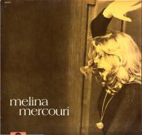 * LP *  MELINA MERCOURI - MELINA (Germany 1971) - Vinylplaten