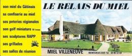 Prospectus Rlais Du Miel Villeneuve Montargis - Werbung