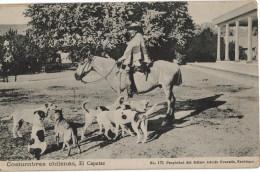 Carte Postale Ancienne De CHILI - COSTUMBRES CHILENAS, EL CAPATAZ - Chile