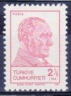 TURKEY 1981 (**) - Mi. 2583, ATATÜRK Regular Issue Stamp - 1921-... République