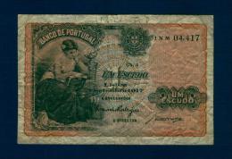 PORTUGAL. 1 Escudo 1917.  Pk.113 A.TB.BC.FINE. - Portugal