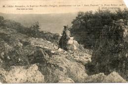 RUPT SUR MOSELLE M L Abbée ALEXANDRE Ascensionnant Sur Son Auto Fauteuil Le Mont Belluet - France