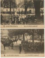 Wesserling 14 Juillet En Alsace 1915 WWI Guerre 14 Revue Des Troupes 2 Cartes  Edit Le Deley - Sonstige Gemeinden