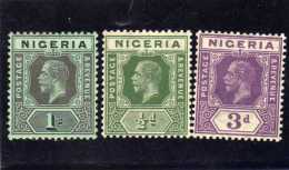 (S.)    1921-22.  NIGERIA - Nigeria (...-1960)
