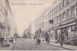 BRAINE LE COMTE RUE DE LA STATION  PREAUX GHLIN - Braine-le-Comte