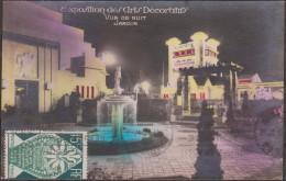 France 1925 Y&T 211. Expo Des Arts Décoratifs. 15 C, Paris 88 Bd St Martin. Vue De Nuit - ...-1929