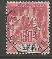 GRANDE COMORE  N� 11  OBL CACHET OCTOGONAL TTB