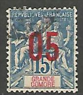 GRANDE COMORE  N� 22  OBL TB