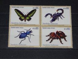 Austria (UN Vienna) - 2009 Insects And Arachnids MNH__(TH-10117) - Wien - Internationales Zentrum