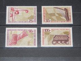 Gabon - 1969 Musical Instruments MNH__(TH-11062) - Gabon (1960-...)