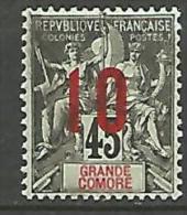 GRANDE COMORE  N� 27 NEUF* TTB LEGERE TRACE DE CHARNIERE / MH