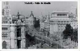 MADRID - CALLE DE ALRALÀ - Karte Gel.1932, 25 Centimos Mit Überdruck Republica Espanol - Madrid