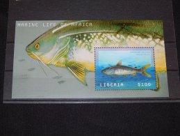 Liberia - 2001 Sea Life Block (1) MNH__(TH-11897) - Liberia