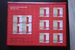Special Herinneringsmapje 200 Jaar POST NVPH 1810 (Mi 1705) 1999 Gestempelt / Used NEDERLAND / NIEDERLANDE - Periodo 1980 - ... (Beatrix)