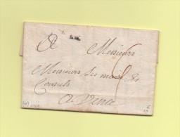 Aix - Bouches Du Rhone - Courrier De 1769 - Destination Vence - Postmark Collection (Covers)