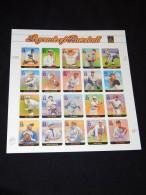 USA - 2000 Baseball Players Sheet MNH__(FIL-7324) - Hojas Completas